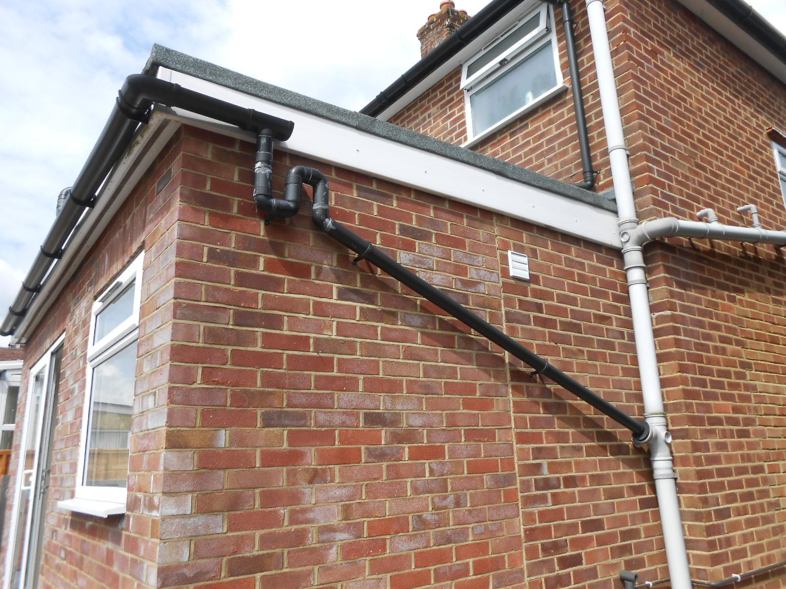 Image gallery soakaways rainwater for Soil vent pipe design