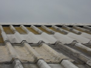 Dilapidation inspection tiled roof