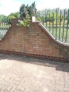 Expansion of brickwork