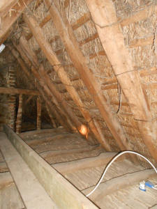 Thatched Roof Interior