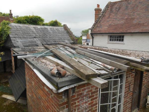 Flat Roof Loading