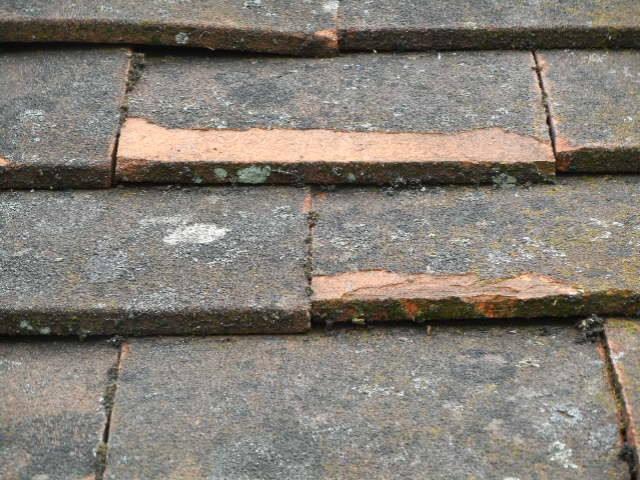 Roof Tiles breaking down